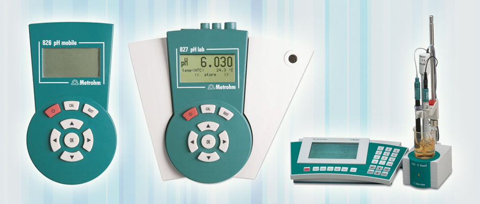 Metrohm pH Meter